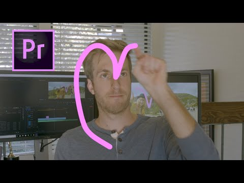 How to make HAND DRAWN ANIMATION EFFECT in Adobe Premiere Pro
