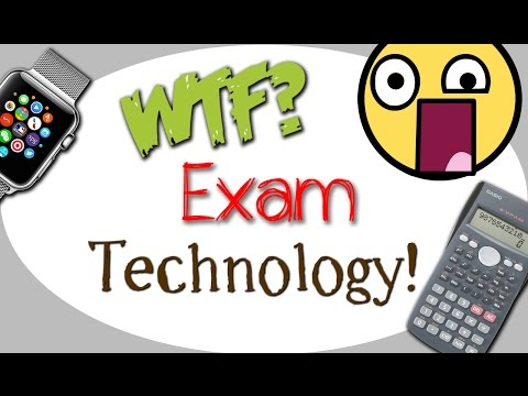Technology help you cheat!