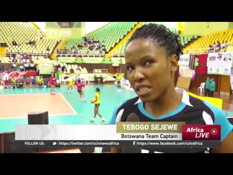 6386 sport CCTV Afrique African Volleyball Championship Botswana's Dream for Continental Glory