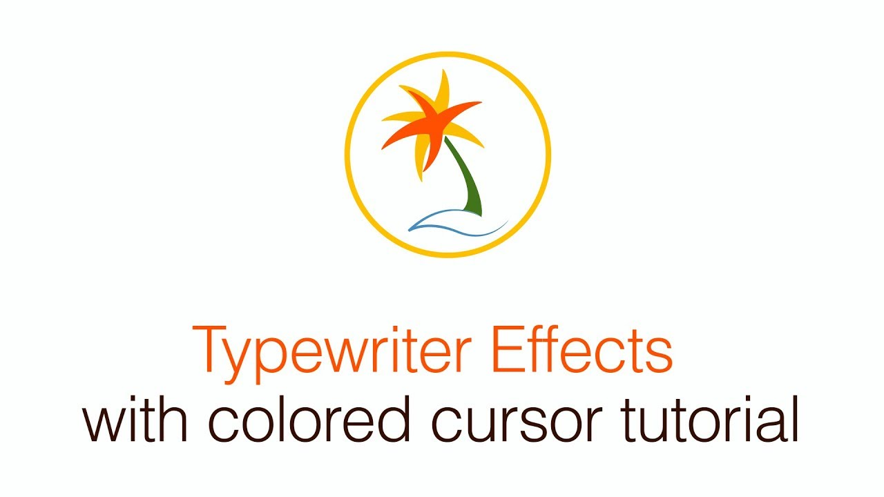 Make an After Effects Typewriter Effect with blinking cursor
