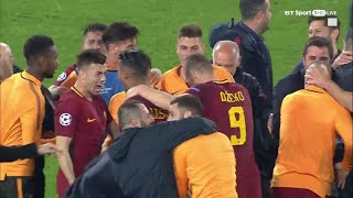 Incredible scenes as Roma complete historic Champions League comeback!