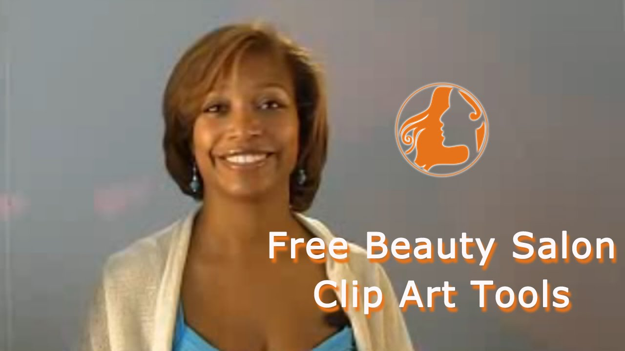Free Beauty Salon Clip Art Tools - YouTube