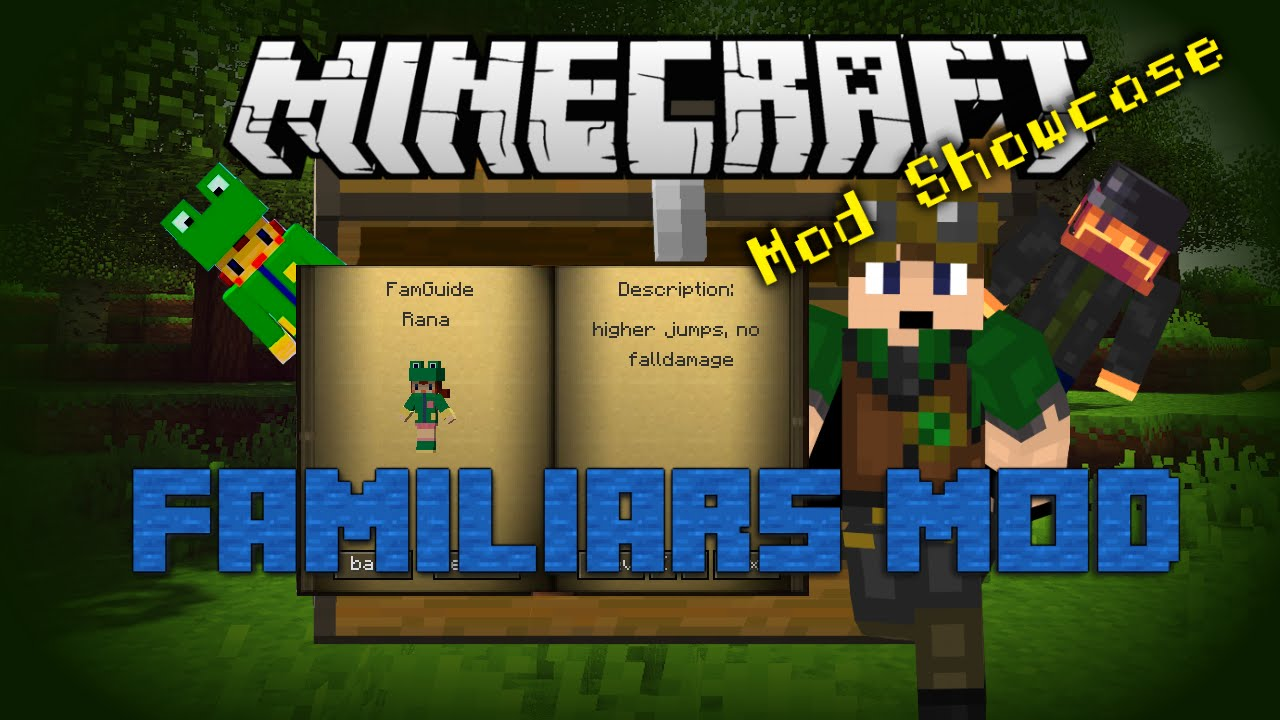 Minecraft famguide mod download