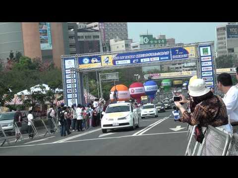 2012國際自由車環台公路賽第七站 高雄站出發了