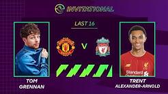 ePremier League Invitational Last 16:  Man Utd 1-5 Liverpool | Trent beats Tom Grennan