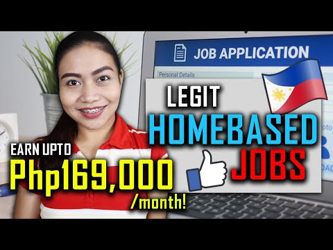 EARN UPTO Php169,000 Monthly ($2500+) | LEGIT HOMEBASED JOBS | Requirements + Salary