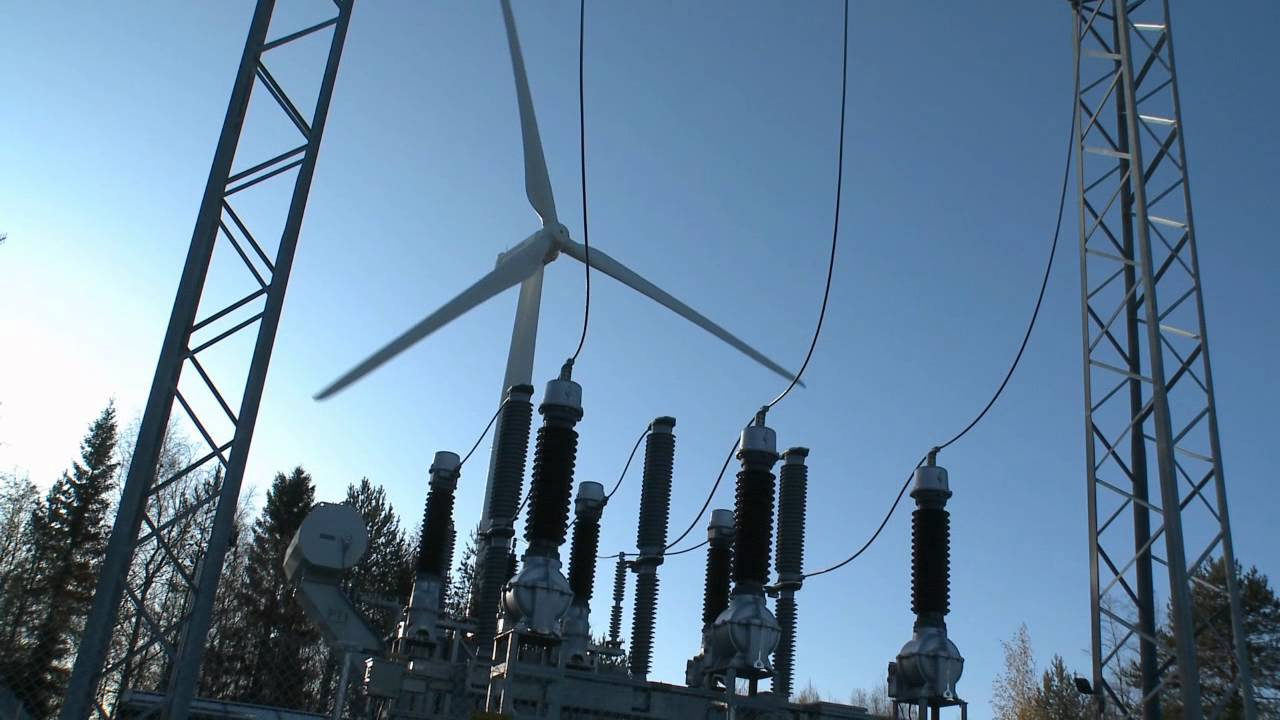 ABB's power products for Finland's largest wind farm - YouTube