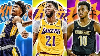 The Anthony Davis Trade's Effect On The 2019 NBA Draft