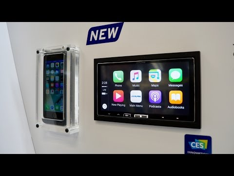 Hands-on with Wireless CarPlay from Alpine's iLX-107 aftermarket receiver