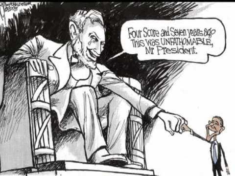 Barack Obama - Editorial Cartoons - Jeff Darcy