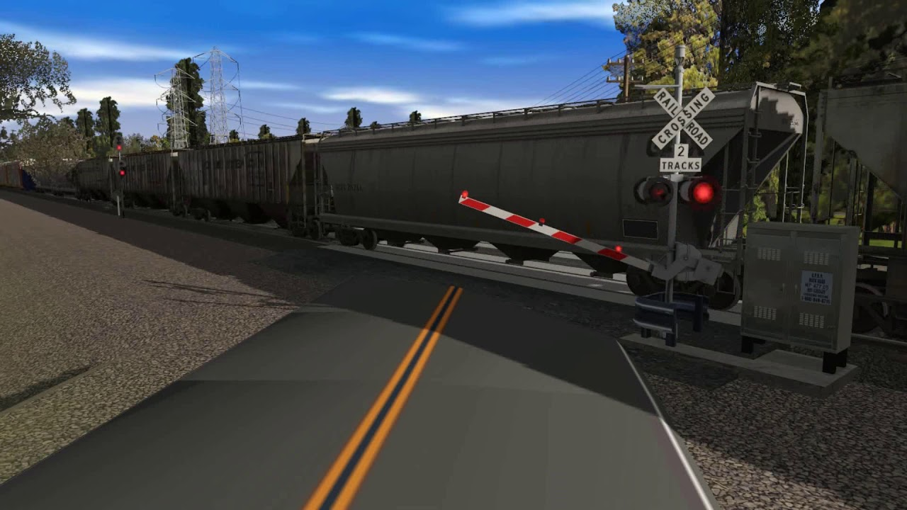 Trainz TRC Grade Crossing Turns Off Too Early On My CSX Route
