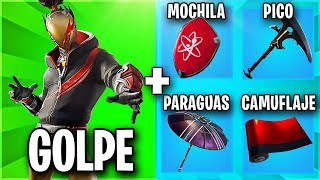 THE BEST SKIN COMBINATIONS WITH THE NEW RED GOLPE HOME PACK 🧡 FORTNITE SKINS COMBOS