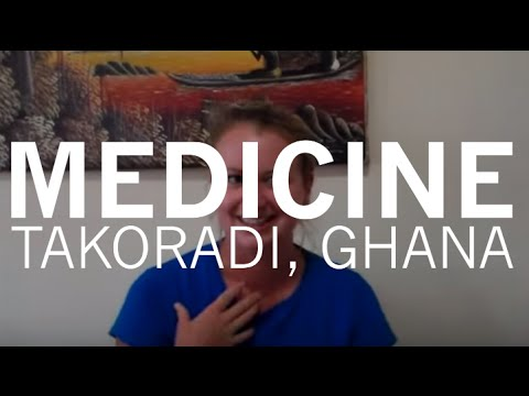 Takoradi, Ghana - Medical student Helen on her brilliant elective in Ghana!