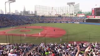 東京ヤクルトvs読売ジャイアンツ 2017 観戦録