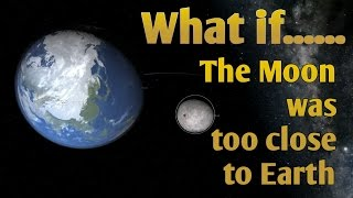 WHAT IF THE MOON WAS TOO CLOSE TO THE EARTH | Roche limit