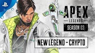 Apex Legends Season 3 - Meet Crypto Vignette Trailer   PS4