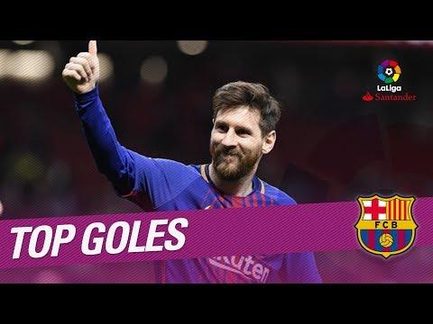 TOP Goles FC Barcelona LaLiga Santander 2017/2018