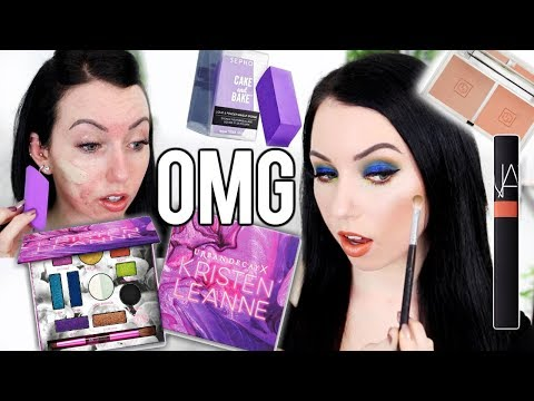 TONS OF FIRST IMPRESSIONS! NEW Urban Decay X Kristen Leanne Palette, Hourglass Brows, Jcat & More!
