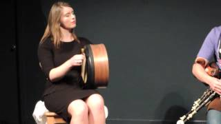 Aimee Farrell Courtney on Bodhrán, teacher's recital - Craiceann 2013 video notes