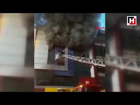 Son Dakika. Ankara'da Mobilyacılar Sitesinde 4 Katlı Mobilya Fabrikasında Yangın çıktı.