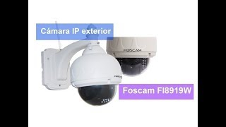 Camara IP foscam FI8919W