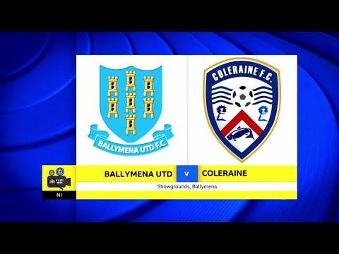 Ballymena Utd Vs Coleraine - 10th March 2018