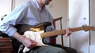 Jeff Beck - Brush with the Blues (cover)