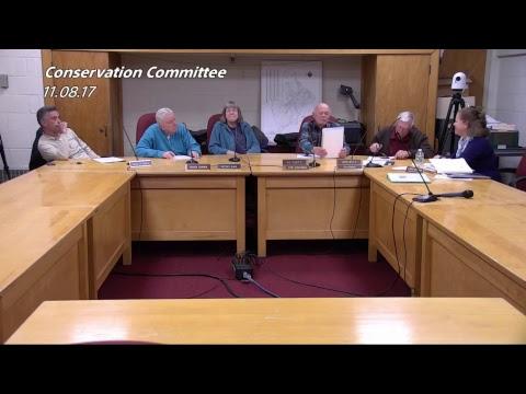 Walpole Conservation Committee - November 08, 2017