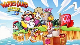 Wario Land: Super Mario Land 3 - Part 1 - Greed & Gambling