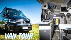 DREAM CAMPER VAN | VW CRAFTER MOTORHOME - XXL GARAGE!!