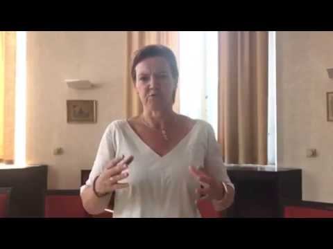 Ms Els Van Hoof, Belgian MP sends solidarity message to #FreeIran2018 convention