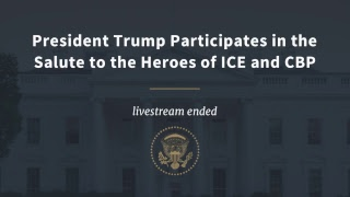 President Trump Participates in the Salute to the Heroes of ICE & CBP