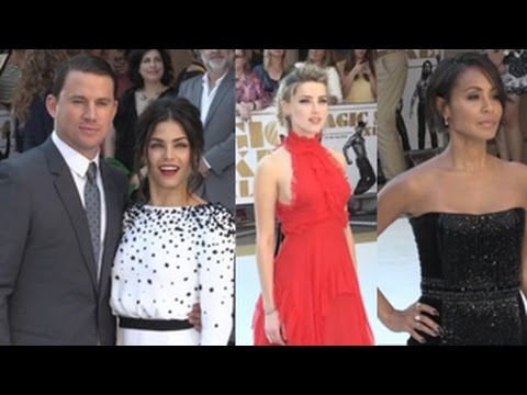 Stars Arrive At The Magic Mike: XXL - European Film Premiere
