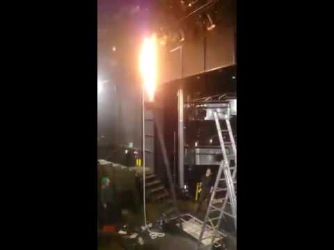 FIRE EFFECTS- for National Theatre of Scotland