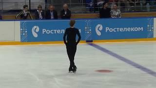 Сергей Воронов КП. Контрольные прокаты. Сезон 2017-2018