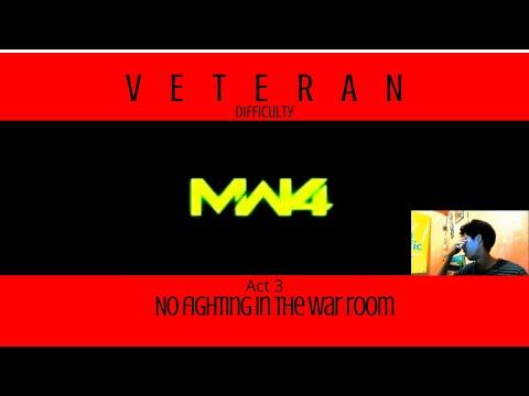 Win or Fail? No fighting in the war room Veteran | COD4 MW