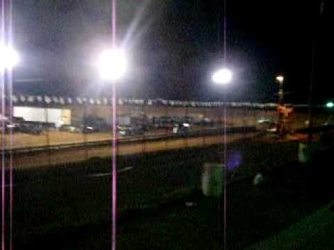 Central Alabama Motor Speedway  4/3/2010 Buzz/Pony Heat Race 2