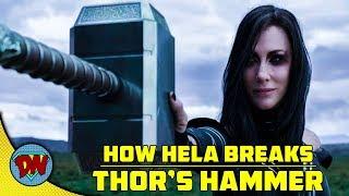 How Hela Breaks Thor