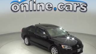 G98729NC Used 2012 Volkswagen Jetta 2.5L SE FWD 4D Sedan Black Test Drive, Review, For Sale