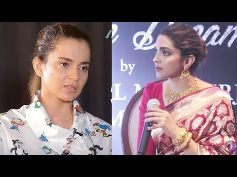 Deepika Padukone Indirectly Taunts And Insults Kangana Ranaut For Her Controversies?