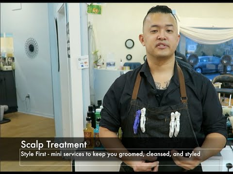 "Master Barber Phil Hovey: Style First ""SCALP TREATMENT"""