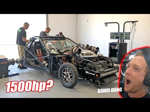 Redneck YouTuber Attempts His FIRST 1,500 Horsepower Dyno Run! *BALD EAGLE ALERT*
