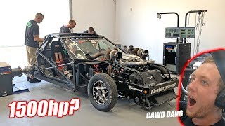 Download Redneck YouTuber Attempts His FIRST 1,500 Horsepower Dyno Run! *BALD EAGLE ALERT* Mp3 and Videos