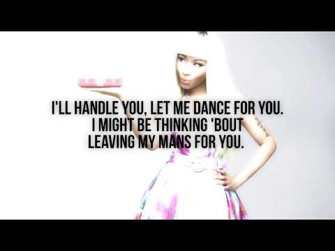 Nicki Minaj - Give It All To Me (Verse - Lyrics Video)
