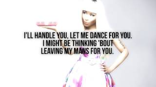Nicki Minaj - Give It All To Me (Verse - Lyrics Video)
