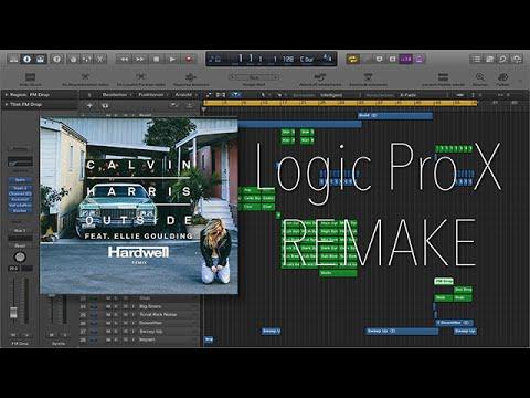 Calvin Harris Ft. Ellie Goulding - Outside (Hardwell Remix) Logic Remake) Free Download