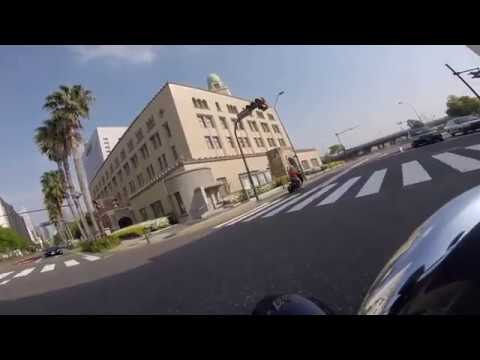 Yokohama Central Town Morning Rideout (in Golden Week) by Harley Davidson FXSB Softail Breakout