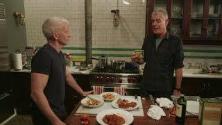 Anthony Bourdain and Anderson Cooper talk Spam (Parts Unknown: Hawaii)