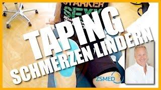 Mit Taping Schmerzen lindern | WWW.PAULKLIKS.COM