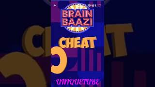 Brain Baazi cheat code for 14 June 2018 at 1pm
